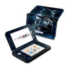 Nintendo 3DS XL Skin - Howling by Antonia Neshev   DecalGirl