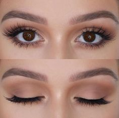 Best Inspiration Mate Makeup : Neutral -Read More – . - - Best Inspiration Mate Makeup : Neutral -Read More – - Beauty Makeup Hacks Ideas Wedding Makeup Looks for Women Makeup Tips Prom M. Neutral Eye Makeup, Makeup For Brown Eyes, Neutral Eyeshadow, Natural Brown Eye Makeup, Basic Eye Makeup, Natural Beauty, Natural Smokey Eye, Natural Fashion, Makeup Inspo
