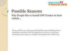 If you are planning to install Car Tracker in your vehicle by your own self then you can take an idea from here may it a bit helps you.