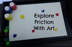 Simple Science Experiment ExploringFriction • Simple At Home Easy Science Experiments, Science Projects, Science Activities, Activities For Kids, Elementary Science, Teaching Science, Science For Kids, Mother Goose Time, Kids Hands