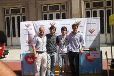 Carlos, Mariano, Juan y Nahuel de Argentina Ciudadana