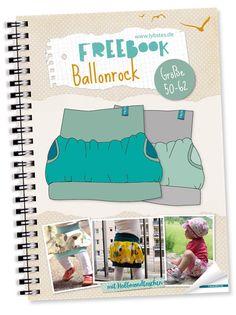 FREEBOOK: Ballonrock mit einfachen Halbmondtaschen nähen