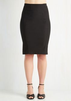 I'll Have the Usual Skirt in Black, @ModCloth