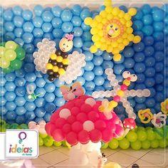 Esse é apenas um dos exemplos do que você pode fazer com os produtos da Cyclon que vendemos no nosso site. Tela mágica, infladores e compressores de balões... Tudo isso aqui: www.ideiasdefestas.com.br