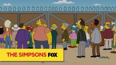 THE SIMPSONS | THE SIMPSONS Also Predicted A Border Wall | ANIMATION on FOX