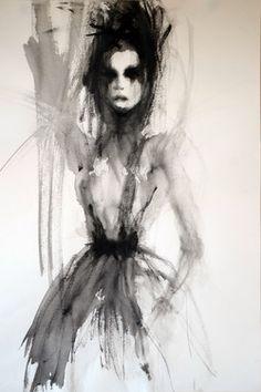 Saatchi Online Artist Fiona Maclean; Painting, Helene #art