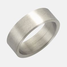 Wedding Bands Classic Bands Flat Bands SS 10mm Flat Size 10 Band Size 4