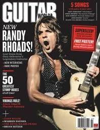 Randy Rhoads-Guitar World Magazine...................
