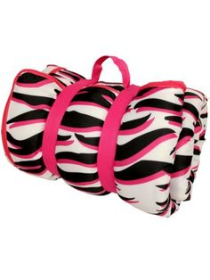 $39.50 Zebra BFF Sleeping Bag