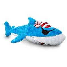 Leaps & Bounds Pirate Shark Dog Toy