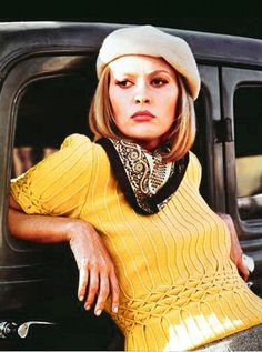 Faye Dunaway || BONNIE and CLYDE  1967