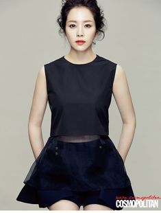 Han Ji Min Is A Flawless Vision In Cosmopolitan Korea's August 2014 Issue