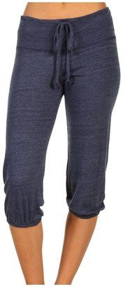 Alternative Apparel Eco-Heather Crop Pant - great fall transition #eco #workout wear