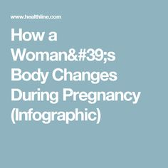 How a Woman's Body Changes During Pregnancy (Infographic)