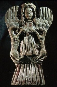 Potnia Theron (Mistress of Animals) / Minoan goddess, Museo della Civitella, Chieti, Italy
