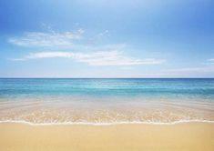 Beach backdrop blue sky and sea water Shell Beach, Ocean Beach, Ocean Waves, Strand Wallpaper, Beach Wallpaper, Iphone Wallpaper, Picture Backdrops, Vinyl Backdrops, Beach Backdrop