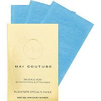 Fighting acne skin? Try these blotting papers infused  with salicylic acid to help with breakouts.  Mai Couture - Online Only Salicylic Acid Blotting Papier in  #ultabeauty