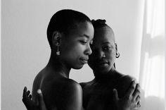 Ebony lesbians in panties