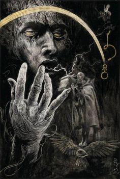 Santiago Caruso, from The Dunwich Horror
