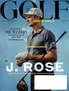 GOLF MAGAZINE APRIL 2019 MASTERS 31 PAGES AUGUSTA REED ROSE SPIETH PAIGE WOODS X Masters, Golf Magazine, Tiger Woods, Magazines, Smoke Free, Baseball Cards, Ebay, Rose, Journals