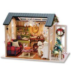 Dollhouse Toys, Wooden Dollhouse, Dollhouse Furniture, Dollhouse Miniatures, Wooden Dolls, Miniature Furniture, Miniature Crafts, Miniature Dolls, Diy Natal