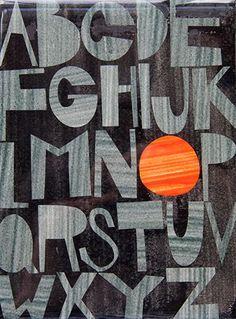 Gallery 16: Rex Ray - Alphabet collage