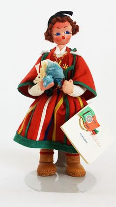 Lovely Maria Helena Doll from 1960s Portugal by UniqueWorldDolls