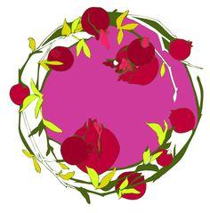 pomegranate - pink