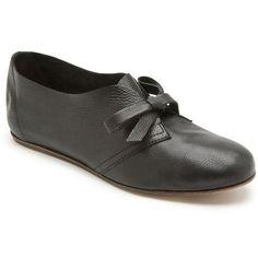 Lanvin Leather Dance Shoe | Kirna Zabete (320 NZD) found on Polyvore