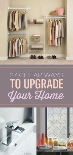 27 Cheap Ways To Upgrade Your Home