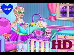 ♥ Super Barbie Games Super Barbie Pregnant Girl Game Episode ♥