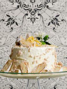 Creative Food, Vanilla Cake, Camembert Cheese, Desserts, Recipes, Tailgate Desserts, Deserts, Postres, Dessert