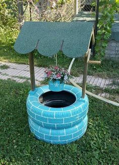 Impressive DIY Tire Planters Ideas for Your Garden To Amaze Everyone Impressive DIY Tire Planters Ideas for Your Garden To Amaze Everyone - 13 Ideias de Jardim com Pneus Para Você Copiar Diy Garden Projects, Garden Crafts, Diy Garden Decor, Outdoor Projects, Garden Decorations, Yard Art Crafts, Clay Pot Projects, Clay Pot Crafts, Outdoor Crafts