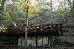 Design Study: Thorncrown Chapel. Eureka Springs, Arkansas. By Fay Jones. IMG_6224