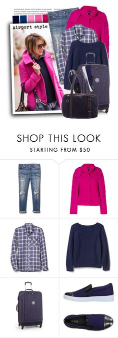 """""""Armani Jeans quilted puffer jacket"""" by tasha1973 ❤ liked on Polyvore featuring Gap, Armani Jeans, Kipling, GUESS and M Z Wallace"""