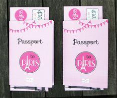 Passport to Paris Birthday Party