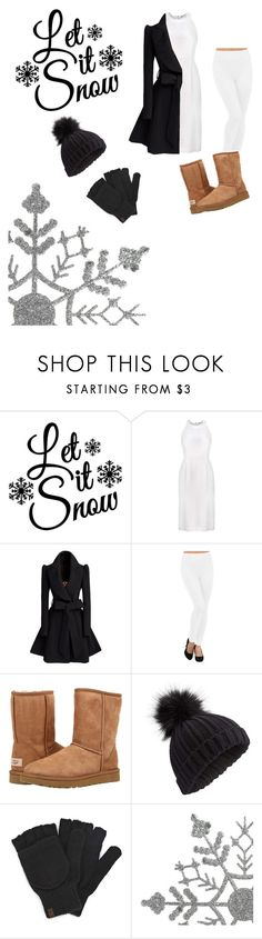"""""""Winter time"""" by harp4life ❤ liked on Polyvore featuring UGG Australia, Miss Selfridge and Keds"""