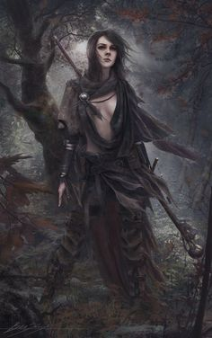 Guardian (Female Forest Mage) by Dropdeadcoheed.deviantart.com on @DeviantArt