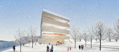 Guggenheim Helsinki - Light Vessel, by Lorcan O'Herlihy Architects Los Angeles, CA