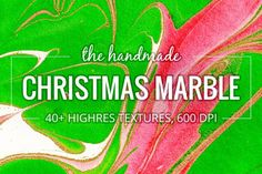 Christmas Marble. 40+ Textures Pack by le-genda on @creativemarket