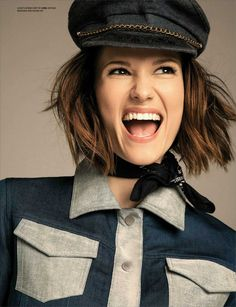 Chyler Leigh in Ji Oh photographed by Mike Ruiz for Emmy Magazine, Issue 03.