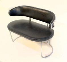 1stdibs.com | Rare Grete Jalk leather loveseat by Fritz Hansen