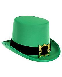 Go all out this Saint Patrick s day by slipping into this classy green top  hat! 8d038394323b