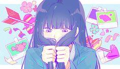 Kimi Ni Todoke, Anime Kunst, Anime Art, Kawaii Anime, Sakura Mochi, Otaku, Dance Paintings, Girls Anime, Anime Couples Drawings