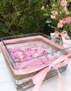 sommerliche Blumendeko mit Buschröschen #Blumen