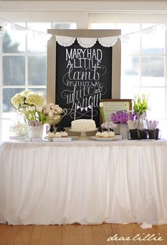 Nursery Rhyme Themed Baby Shower Part 2 by Dear Lillie... love so many of these ideas!