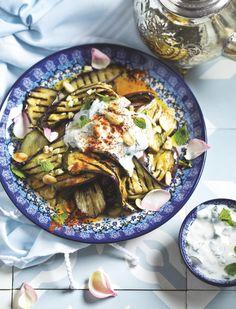 Frisse aubergines met munt en yoghurtLees verder