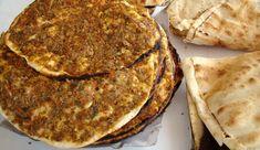 Halep işi lahmacun evde nasıl yapılır? Halep lahmacunu püf noktaları Pita Bread, Halep, Breakfast, Food, Morning Coffee, Eten, Meals, Morning Breakfast, Pitta