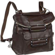 AmeriLeather Rococo Leather Handbag / Backpack >>> More info could be found at the image url.