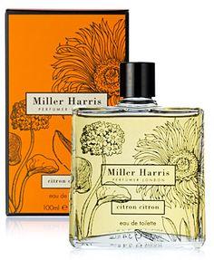 Miller Harris - Citron Citron perfume @ www.melaniedrakefashion.com